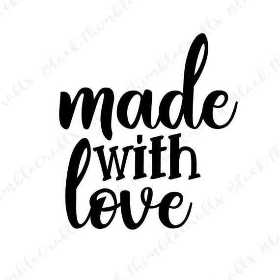 Download made with love svg valentines svg heart svg newborn svg   Etsy