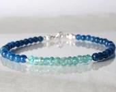 Apatite bracelet, arm candy bracelet, friendship bracelet, yoga bracelet
