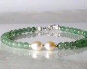 Aventurine bracelet, arm candy bracelet, stackable bracelet, friendship bracelet