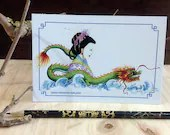Dragon note card