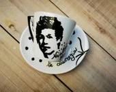 Creative Painting Cup Set   Ceramic Tea Cup Set   Painted Tea Coffee Cup   Coffee Cup Set   Printed Cup Set   Cup Set