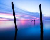 Dream Tide, Fine Art Print, Landscape Photograph, Nature Scene Art Print, Original Ocean Landscape Photograph Print Sunset