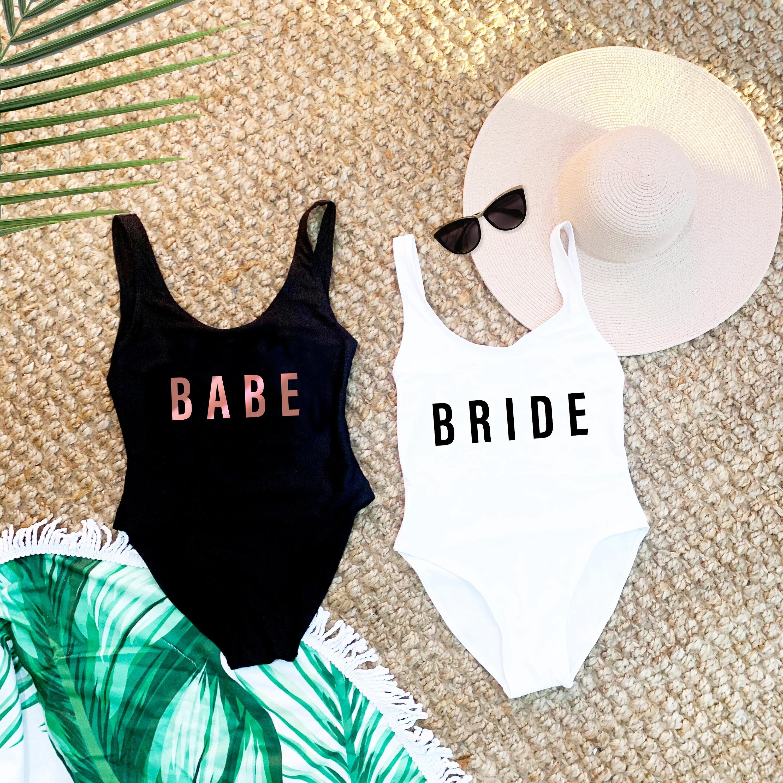 Beach Bachelorette Swimsuits Bathing Suits Honeymoon image 2