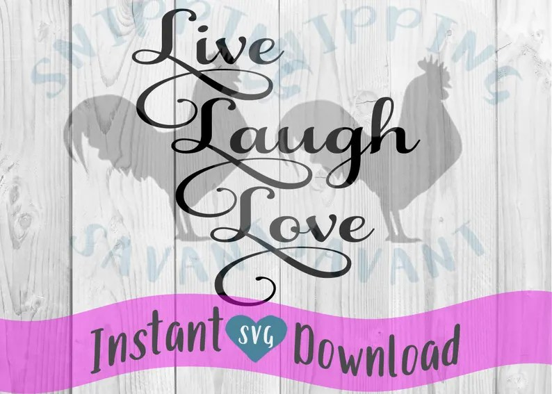 Download Live Laugh Love Script Vector Clip Art svg Design File Cut ...