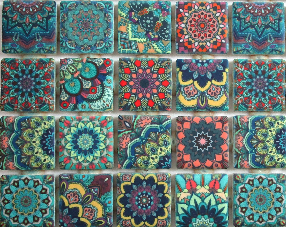 ceramic mosaic tiles moroccan tile design multi color etsy