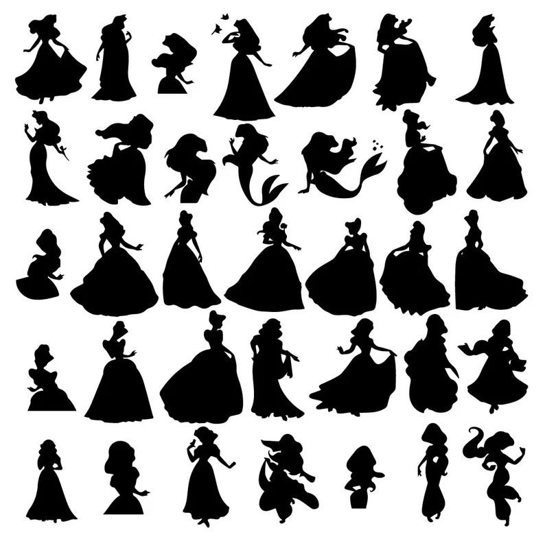 Download Disney princess svg Disney princess eps Disney princess | Etsy
