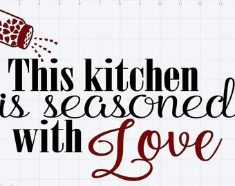 Download Seasoned with love   Etsy