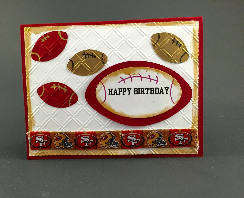 49ers Birthday Etsy