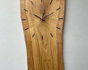 driftwood wall clock etsy