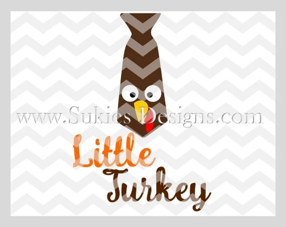 Download Little Turkey SVG DXF PNG Files for Cricut and Silhouette ...