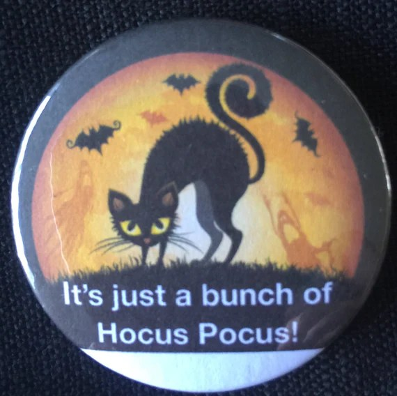 Halloween Witch Witchy Poo Meme Brooch Quotes Badge Etsy