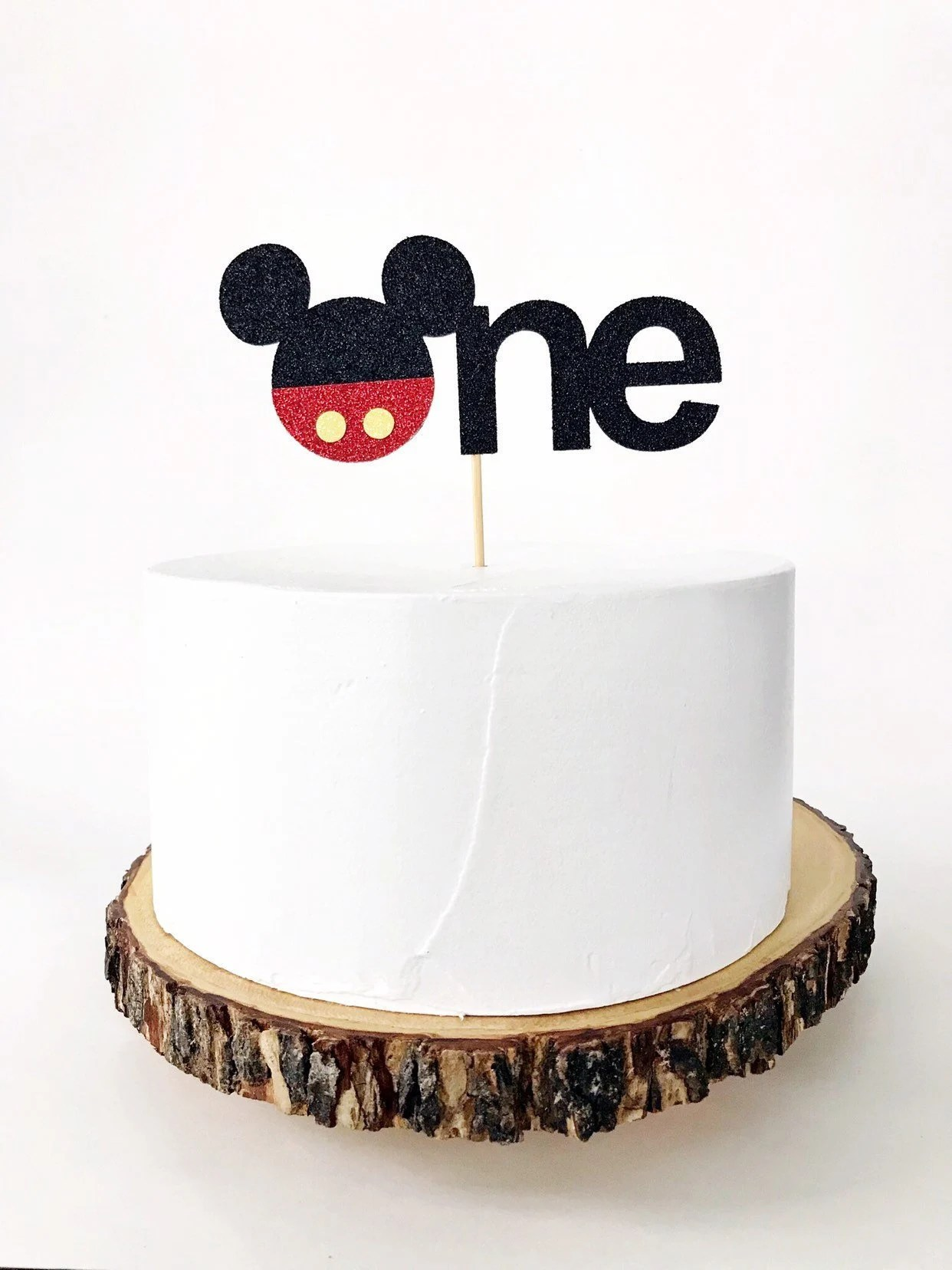 Mickey Mouse First Birthday Cake Topper Mickey Mouse Etsy