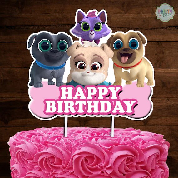 Puppy Dog Pals Cake Topper
