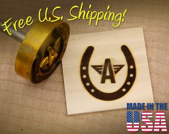 "Branding Iron - 2"" Round Custom Designed for Wood"