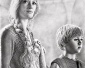 Cersei and Tommen Original Drawing