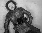 The Death of Jon Snow Art Print