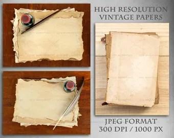 Download Vintage Letter Old Paper Mockup Yellowimages
