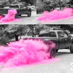 3lb Premium Burnout Gender Reveal Simple Black Tire Pack In Pink Blue Orange Green Yellow White For Car Truck Or Motorcycle Burnouts