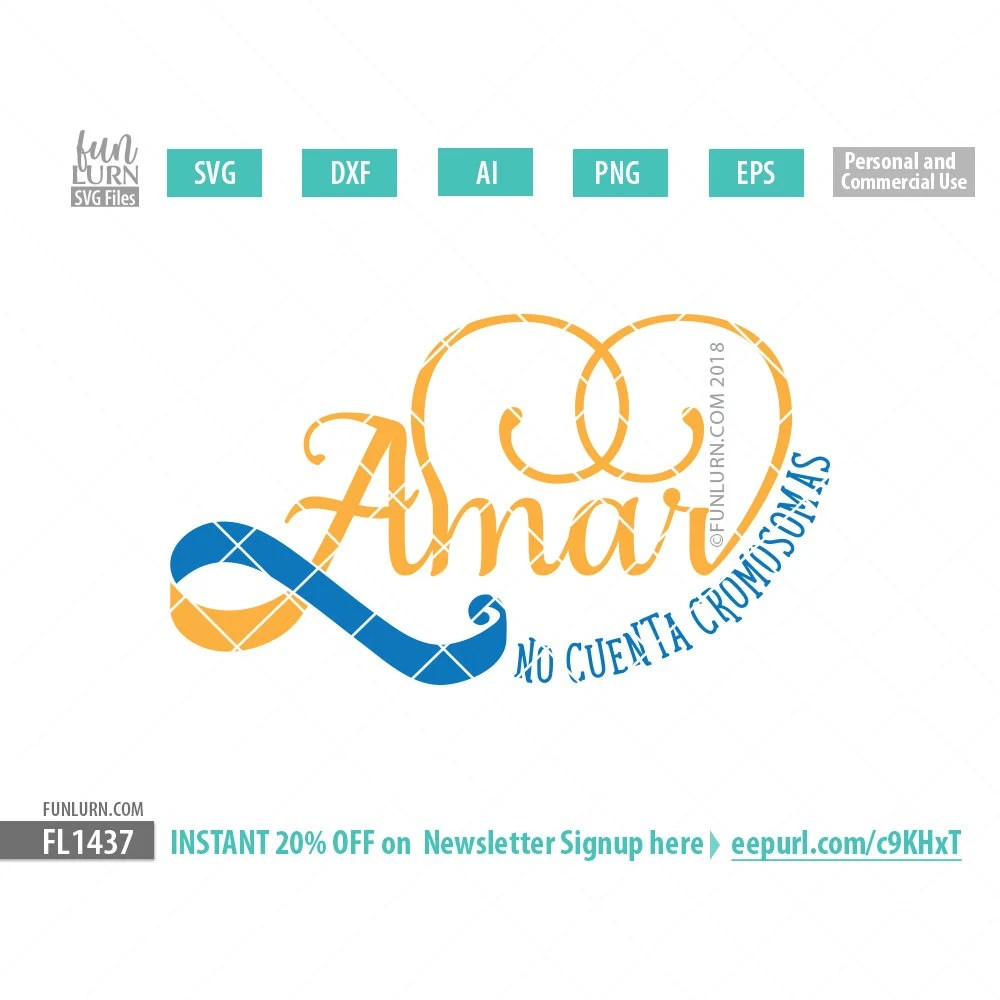 Download Amar no cuenta cromosomas spanish svg Love doesn't count ...