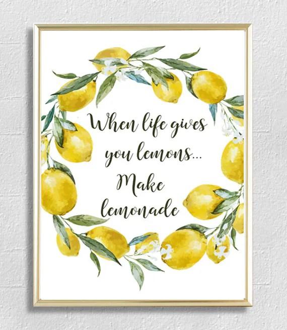 Image result for life gives you lemons