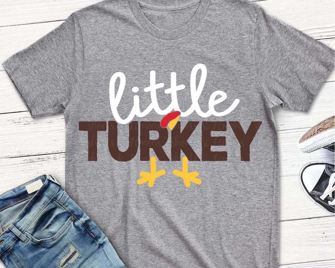 Download Little Turkey svg svg Thanksgiving svg boys turkey svg   Etsy