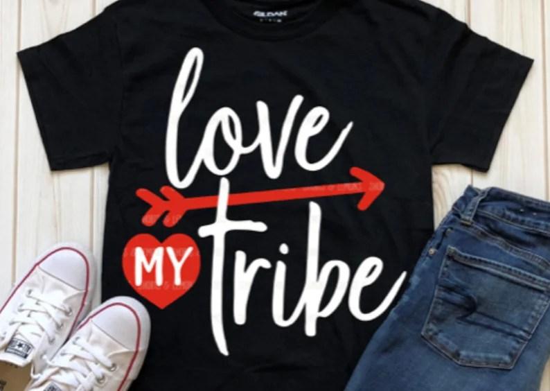 Download Love my tribe svg tribe svg arrow svg valentine svg SVG   Etsy