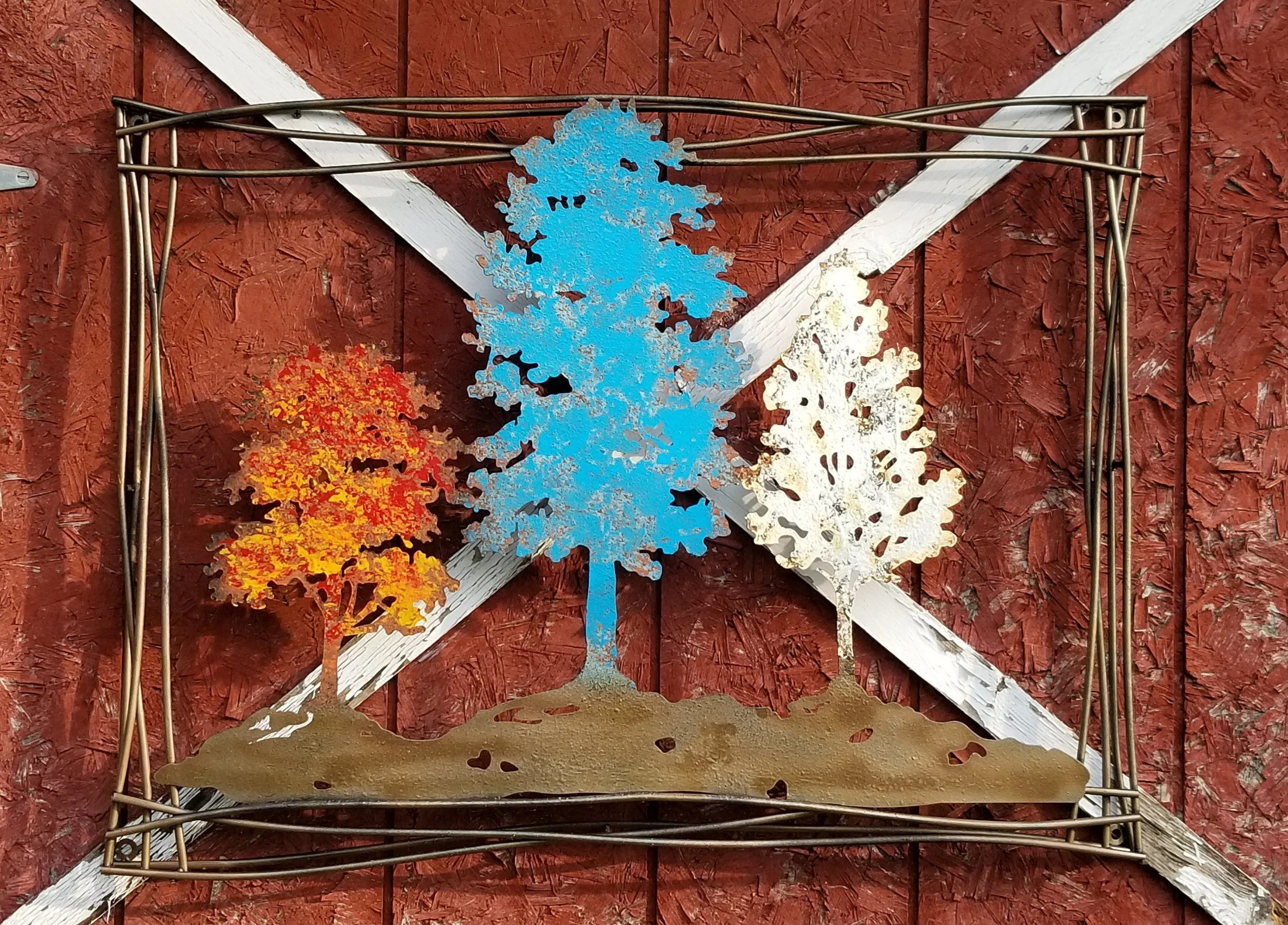 Items Similar To Tree Of Life Wall Art, Metal Wall Art