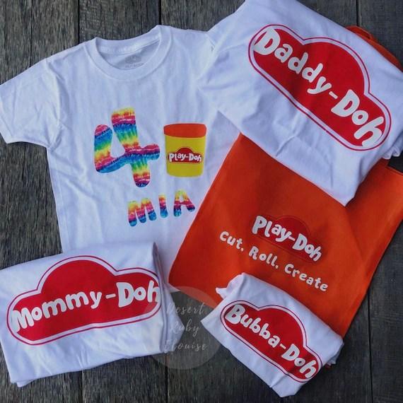 Play Doh Birthday Shirt Shop Clothing Shoes Online