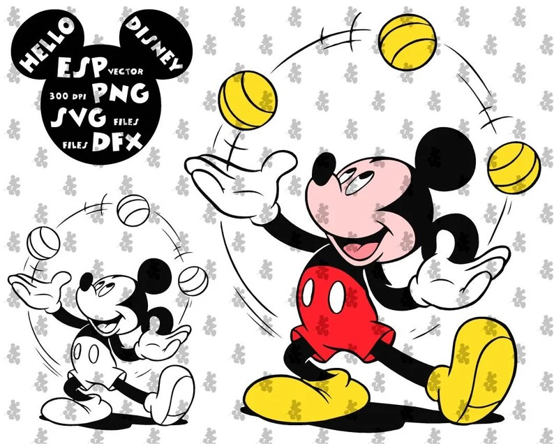 Download Disney Svg Mickey Mouse Clipart Disney Cut files Mouse Die ...
