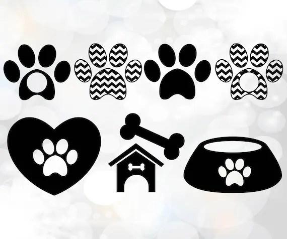 Download Dog Love Collection Dog paw svg file Dog love svg SVG | Etsy