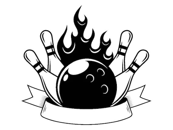 Download Free Printable How To Draw A Bowling Ball And Pins - hd ...