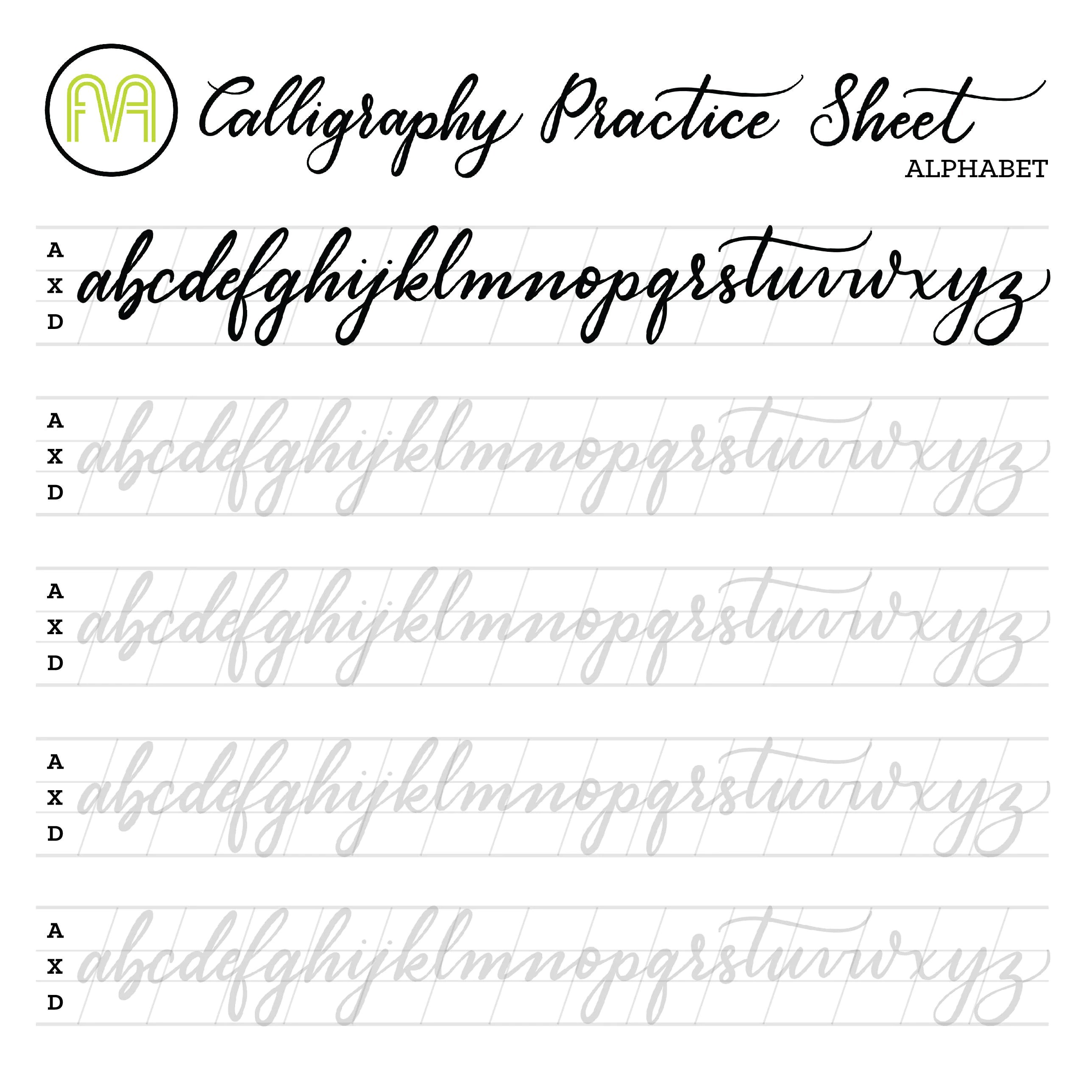 Practice Sheets Basic Nail Art Brush Strokes