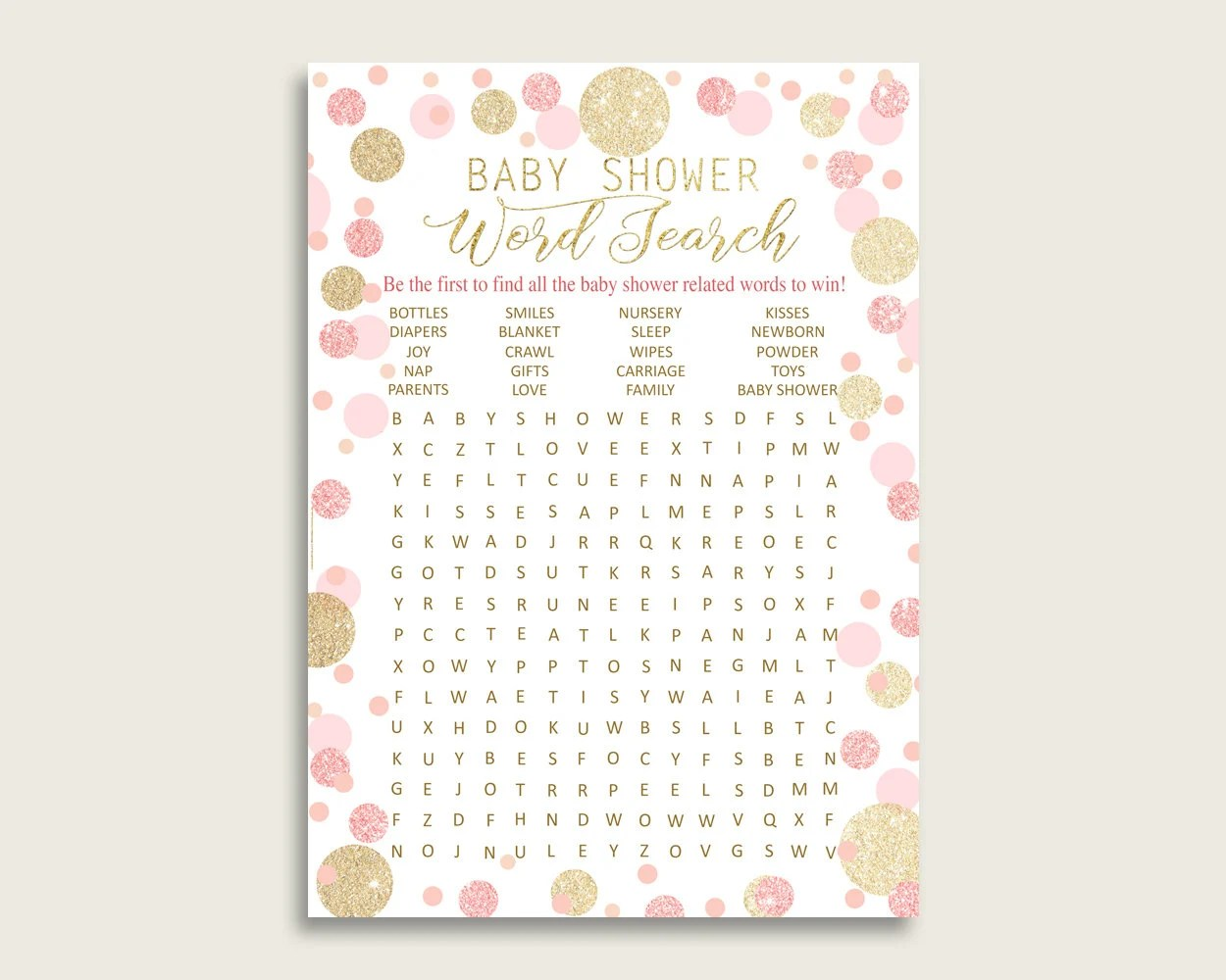 Baby Shower Words For A Card - Drawing Apem