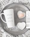 17oz Latte Mug Mockup Psd Smart Object 12oz Coffee Mug Etsy