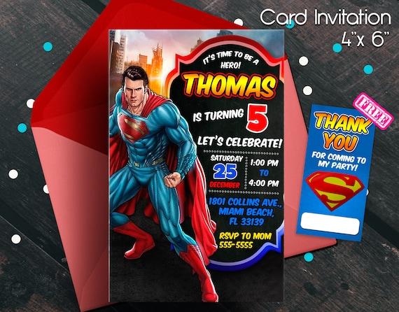 superman invitation superman birthday superman party superman printables superhero invitation superhero birthday superhero party