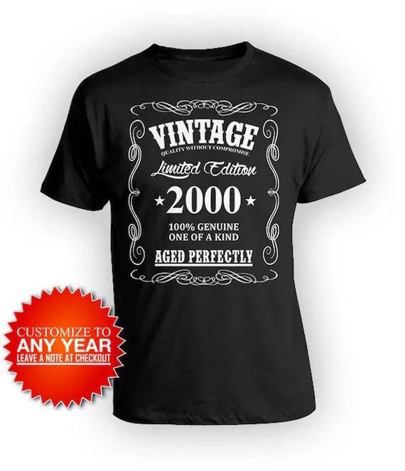 21st Birthday Shirt For Him Bday Gift Idea For Men 21st Bday T Etsy