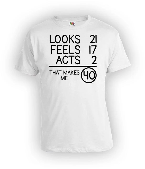40th Birthday T Shirt Birthday Gift For Men Bday Shirt Present Etsy