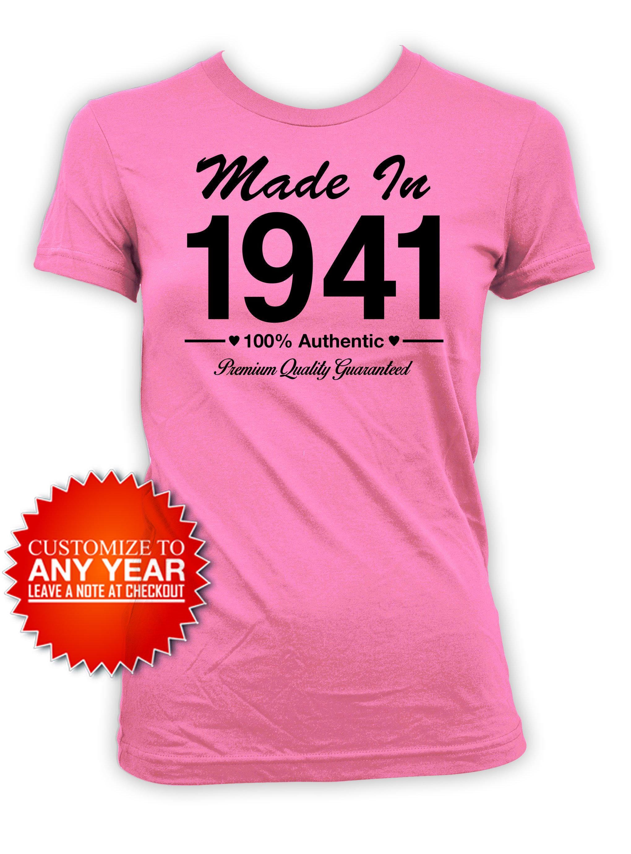 80th Birthday Shirt Bday Gift Ideas For Her Custom Birthday T Etsy