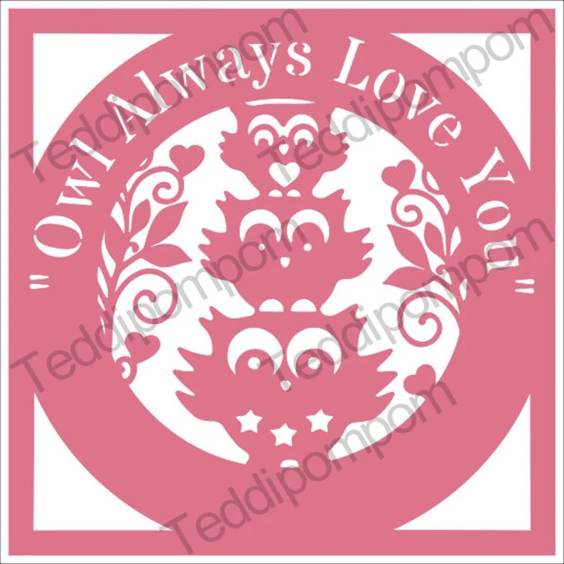 Download Woodland svg digital owl owl svg owl always love you | Etsy