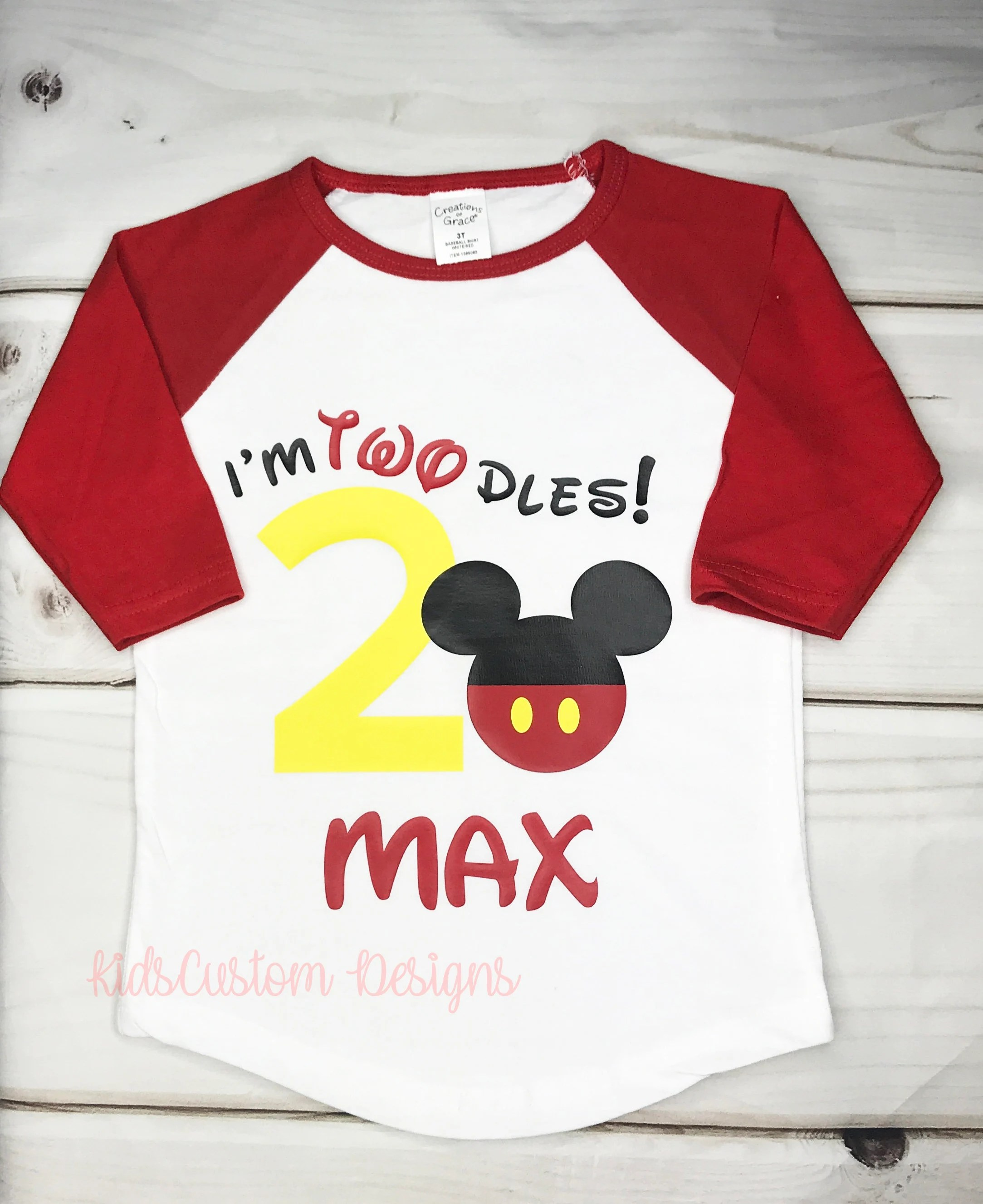 Mickey Mouse 2nd Birthday Shirt Shop Clothing Shoes Online