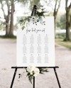Seating Chart Greenery Printable Seating Chart Template Etsy