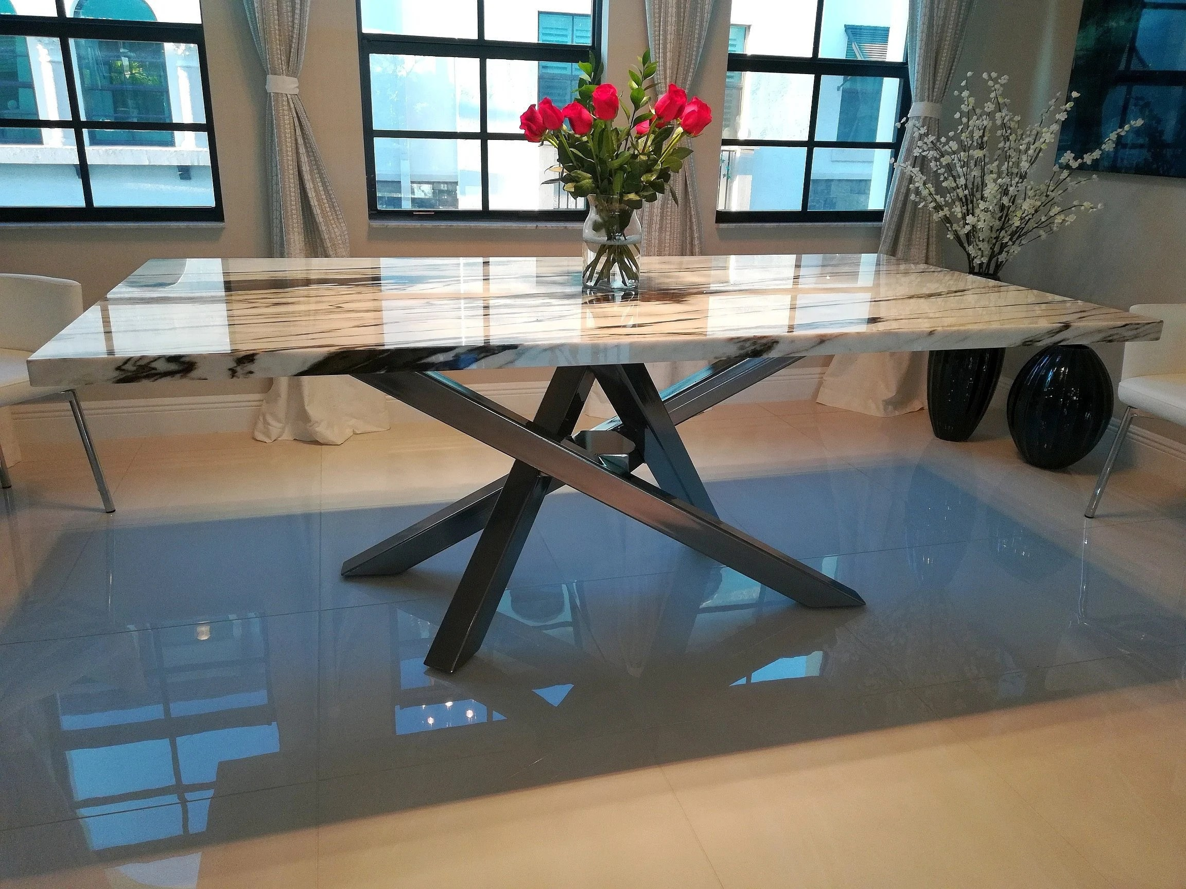 metal table base etsy