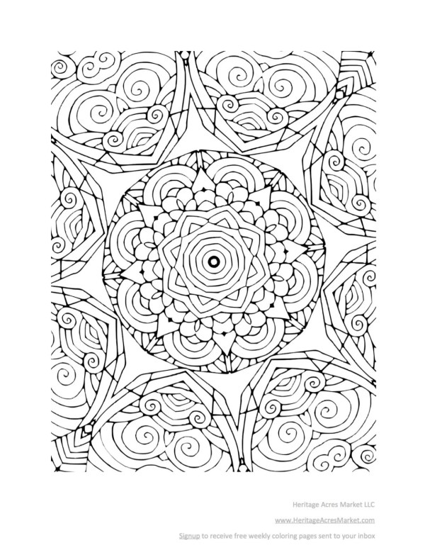 relaxing coloring pages # 66