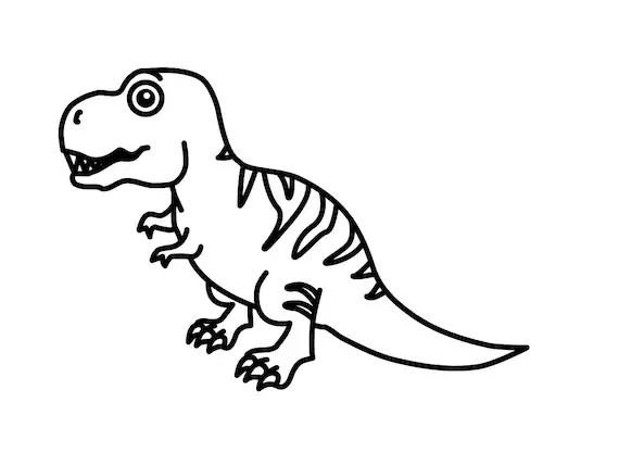 Tyrannosaurus Rex Vinyl Decal T Rex Laptop Car Window Yeti Etsy