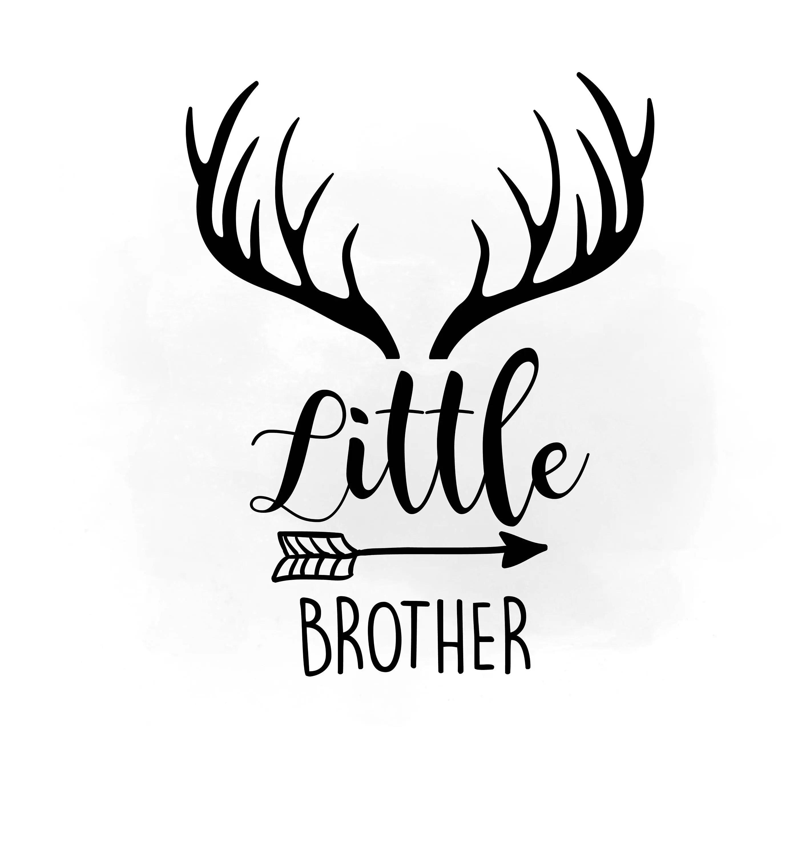 Little Brother Svg Clipart
