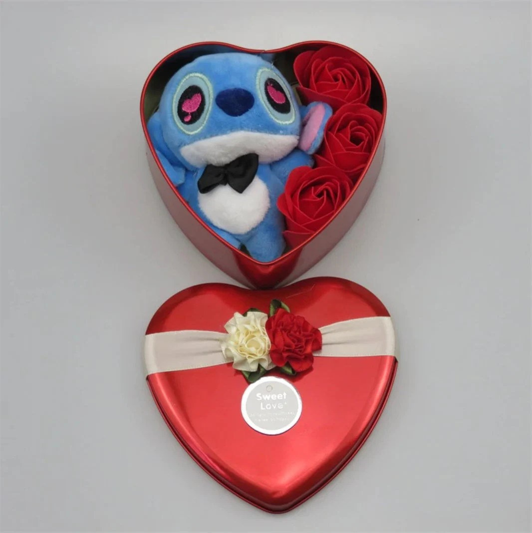 Inspired by disney Handmade lovely stitch plush toys with soap image 4