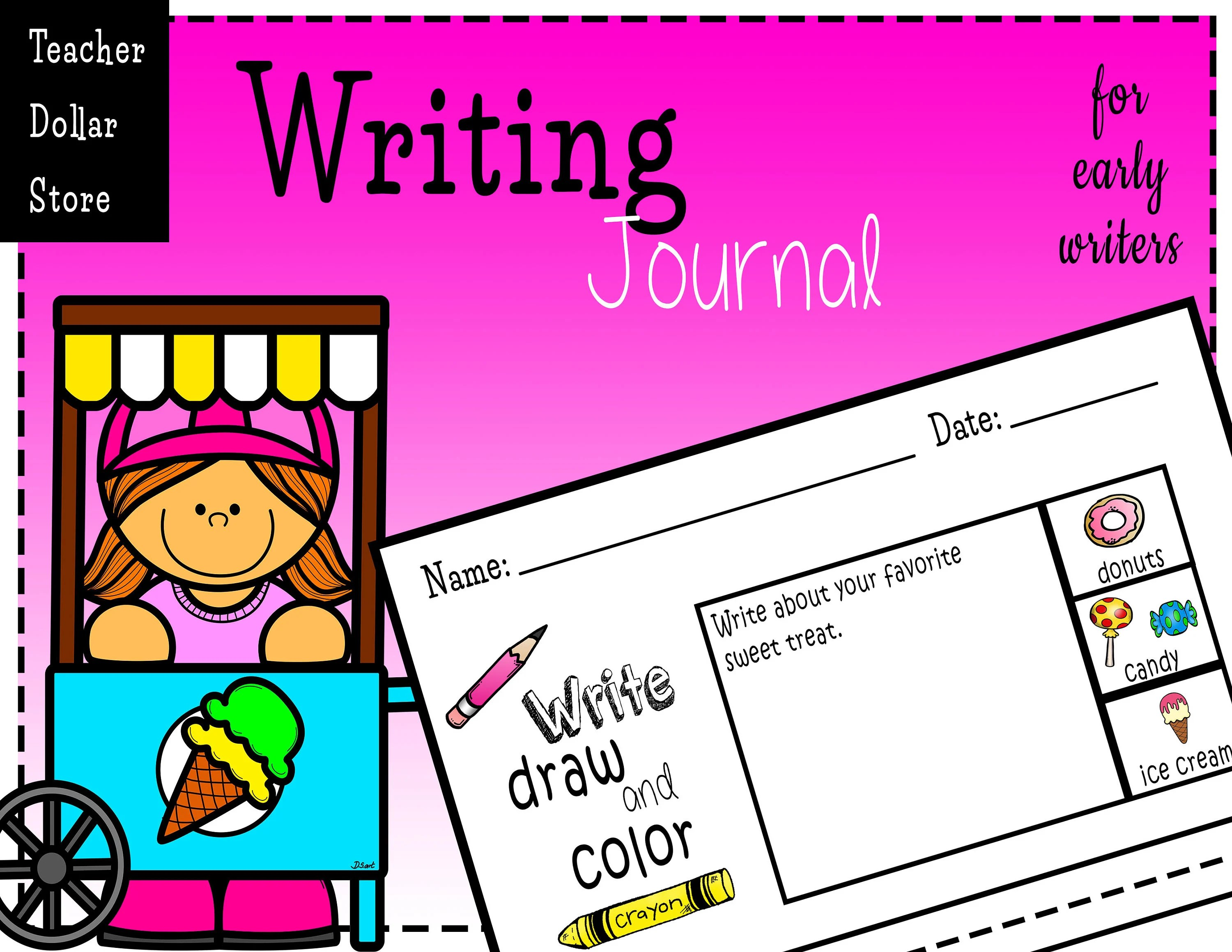 Worksheets Writing Journals For Early Writers