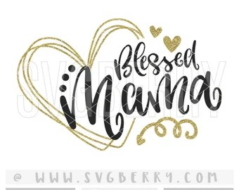 Download Blessed Mimi SVG / Mimi Gifts Mimi Shirt Mimi Svg / Gifts ...
