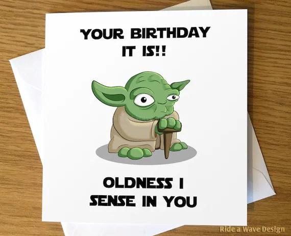 carte d anniversaire star wars carte d anniversaire yoda carte de voeux yoda carte de voeux star wars star wars yoda carte d anniversaire
