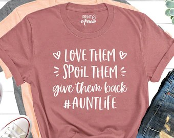 Download Auntie shirt   Etsy